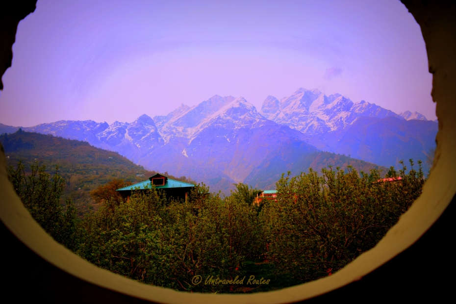 Glimpse of Sangla